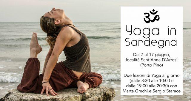 Yoga in Sardegna (Giugno 2018)